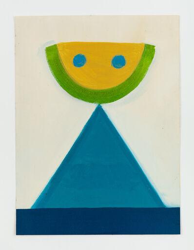 Leonhard Hurzlmeier, 'Untitled (Volcano Face)', 2014