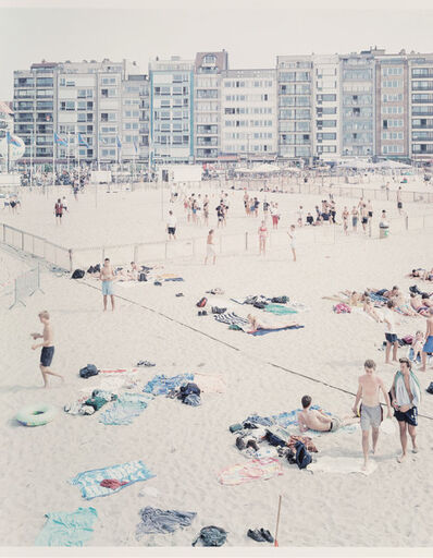 Massimo Vitali, 'Untitled from Knokke Beach polyptych ', 2002