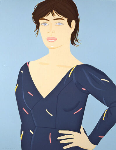 Alex Katz, 'Grey Dress', 1992