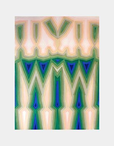 Tauba Auerbach, 'Fold Slice Topo II', 2011