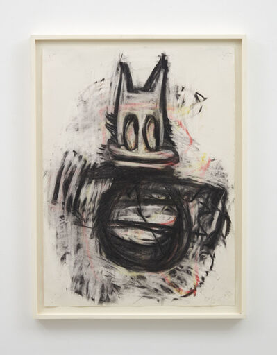 Joyce Pensato, 'Louie Here', 2016
