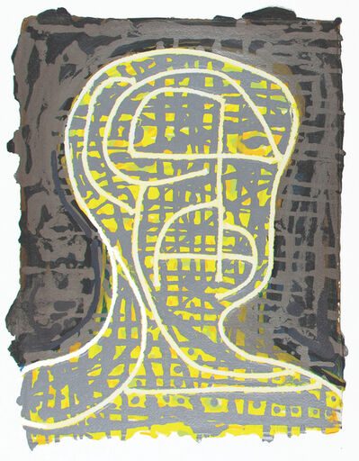 Nicole Eisenman, 'Yellow Head Number 1', 2019