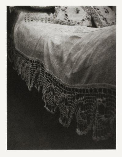 Patti Smith, 'Coverlet, Diego Rivera Bed, Casa Azul, Coyoacán', 2012