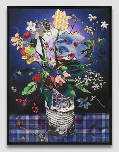 Matthew Day Jackson, 'Bouquet in Glass Vase', 2019