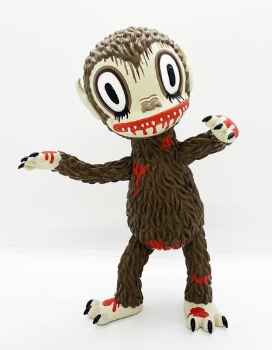 Gary Baseman, ''Bloody Ahwroo' (original brown)', 2020