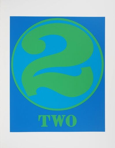 Robert Indiana, 'Two, 1997', 1997