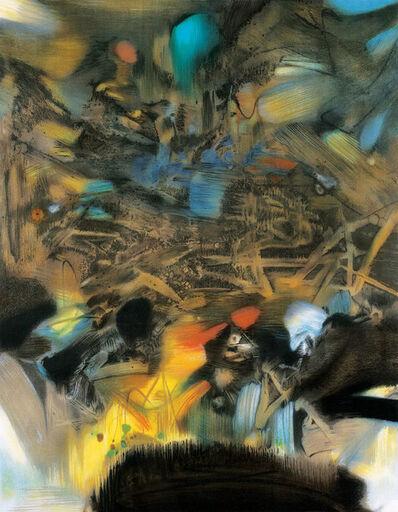 Chu Teh-Chun, 'Au Commencement 開端', 1987
