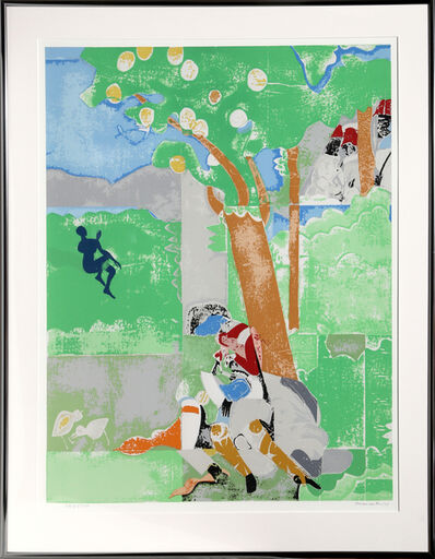 Romare Bearden, 'Delilah from Prevalance of Ritual', 1974