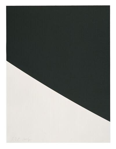 Ellsworth Kelly, 'Blue Curve (Black State)', 2000