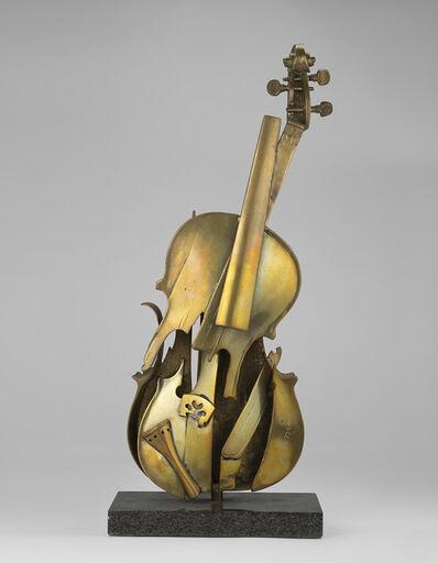 Arman (1928-2005), 'Le tombeau de Paganini', 1979