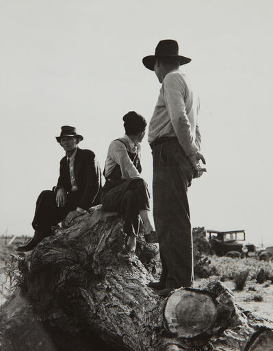 Dorothea Lange, 'Near Shafter, California, Migratory Laborers, February', 1939