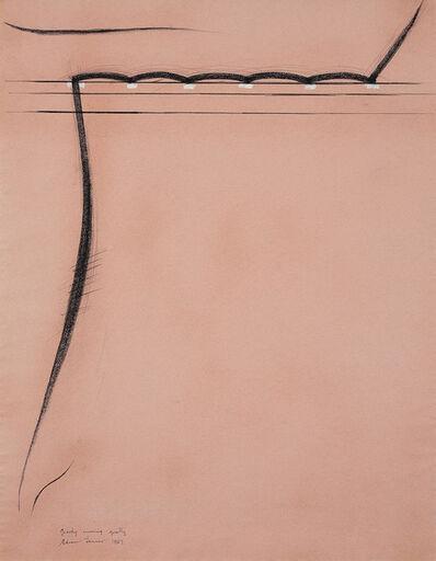 Edwin Tanner, 'Gravity winning quietly', 1967