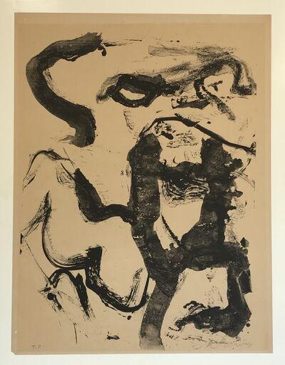 Willem de Kooning, 'Figure at Gerard Beach', 1971