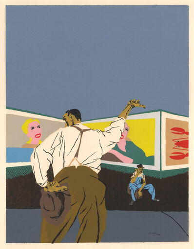 Robert Gwathmey, 'The Hitchhiker ', 1937