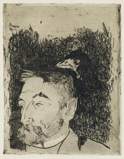 Paul Gauguin, 'Portrait de Stéphane Mallarmé.', 1891