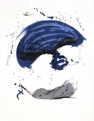 Claes Oldenburg, 'Thrown Ink Bottle with Fly and Dropped Quill', 1991