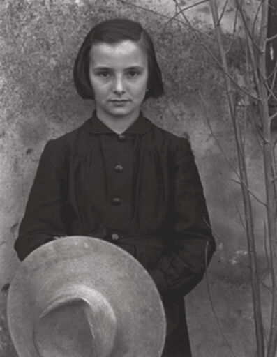 Paul Strand, 'Tailor's Apprentice, Luzzara, Italy', 1953