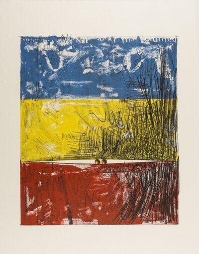 Jasper Johns, 'Two Balls', 1975