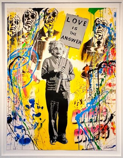 Mr. Brainwash, 'Einstein', 2015