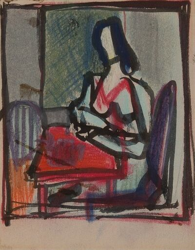 Franz Kline, 'Seated Woman'