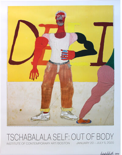 Tschabalala Self, 'Out of Body poster (SIGNED)', 2020