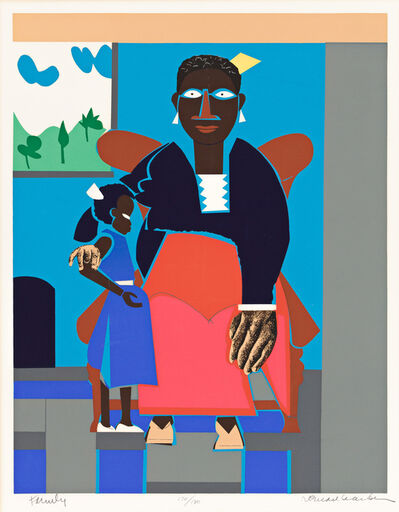 Romare Bearden, 'Family (Mother and Child)', 1980
