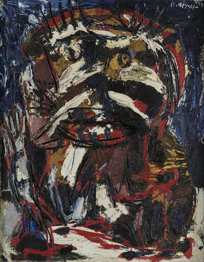 Karel Appel, 'Man with a brush cut', 1954