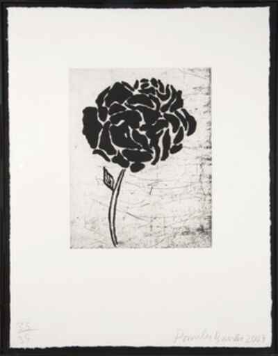Donald Baechler, 'Flower III', 2007