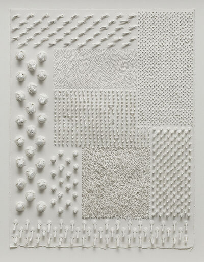 Lars Christensen, 'White Structure / Manual #3', 2014