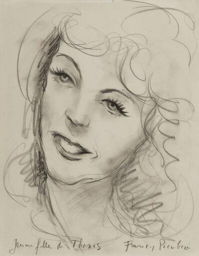 Francis Picabia, 'Jeune fille de Thones', Unknown