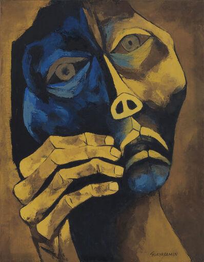 Oswaldo Guayasamín, 'Cabeza y mano', 1980