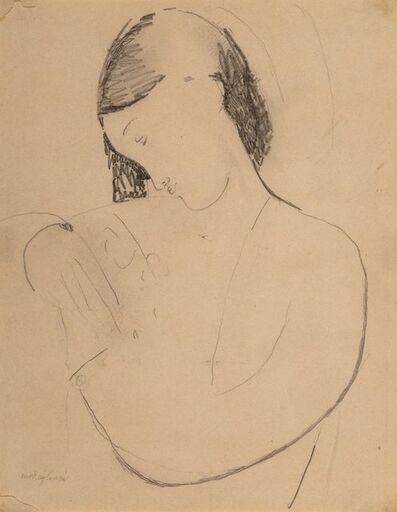 Amedeo Modigliani, 'Busta di donna con testa di profile', 1916
