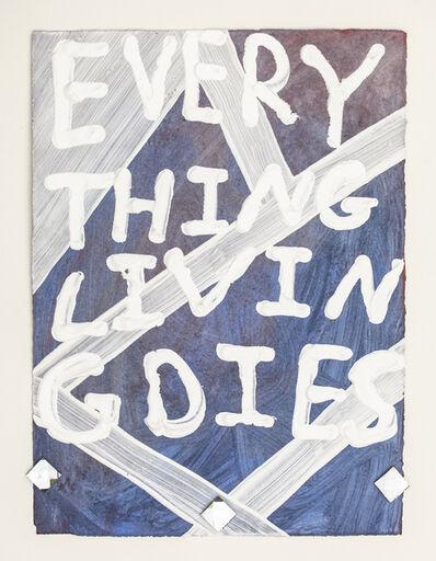 Samuel Jablon, 'Everything Living Dies', 2015