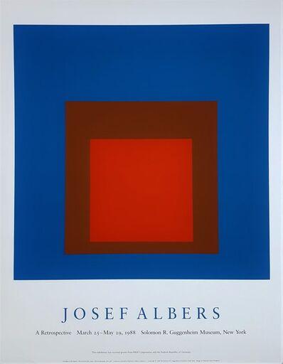 Josef Albers, 'Josef Albers: A Retrospective', 1988