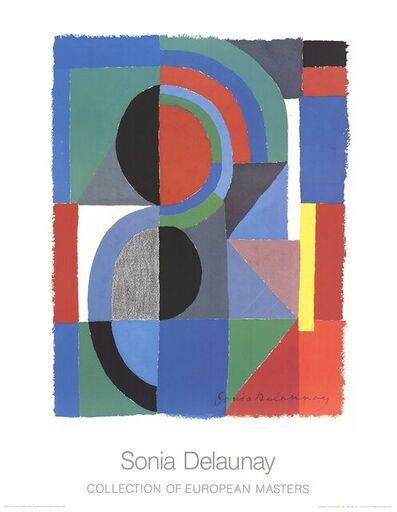 Sonia Delaunay, 'Viertel', 1986