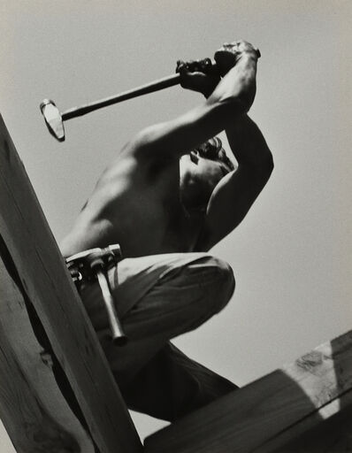Pirkle Jones, 'Worker, Saratoga, CA', 1958