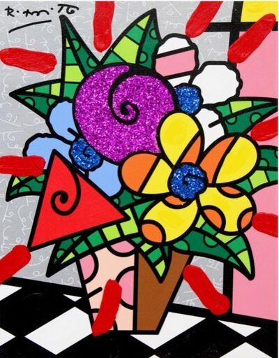 Romero Britto, 'Flowers For You', 2021