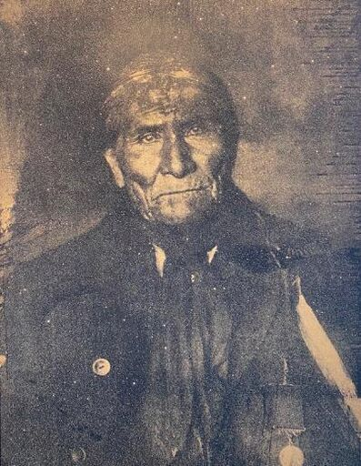 Russell Young, 'Apache Chief Geronimo, Atomic Gold', 2010