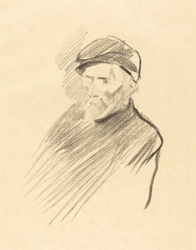 Jean-Louis Forain, 'Renoir (first plate)', 1905