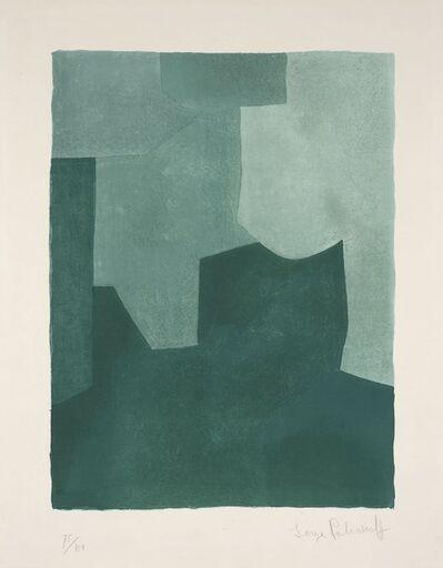 Serge Poliakoff, 'Composition verte', 1966