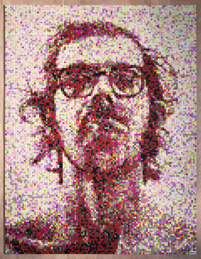Andy Bauch, 'Chuck Close', 2016