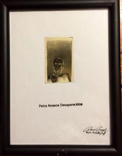Paulo Bruscky, 'Pelos nossos desaparecidos', 1978