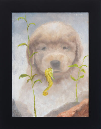 Stuart Dunkel, 'Seahorse and Puppy', 2020