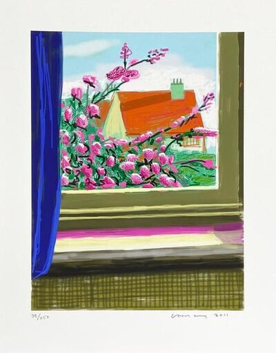 David Hockney, 'My Window, Art Edition 778', 2010