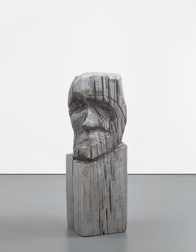 Thomas Houseago, 'Carved Head (Base)', 2007