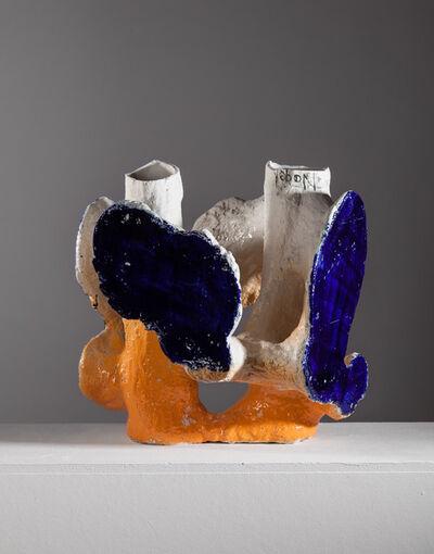 Johannes Nagel, 'Orange Blue', 2017