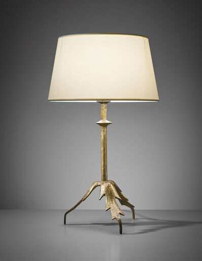 Alberto Giacometti, 'Trépied à feuille table lamp (first version)', circa 1937