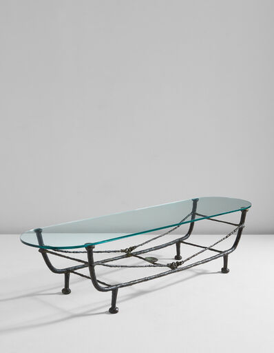 Diego Giacometti, ''Berceau' low table, first version', designed circa 1963-later cast