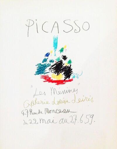 Pablo Picasso, 'Les Menines, 1959', 1959
