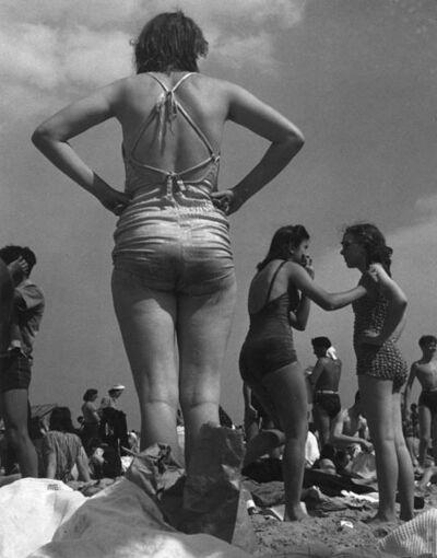 Morris Engel, 'Woman on Beach, Coney Island, NYC', 1938